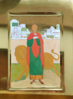 Пантелеимон, великомученик, писаная икона