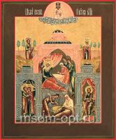 Рождество Пресвятой Богородицы, икона (арт.03205)