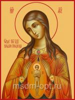 В родах Помощница икона Божией Матери (арт.00373)