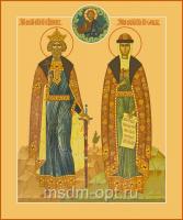 Владимир и Ольга равноапостольные великие князья, икона (арт.04000)