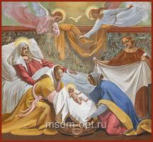 Рождество Пресвятой Богородицы, икона (арт.04009)