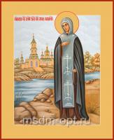 Анна Кашинская благоверная великая княгиня, икона (арт.00405)