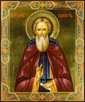 Сергий Радонежский, преподобный, писаная икона