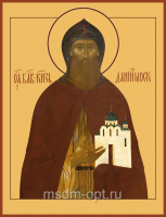 Даниил Московский благоверный князь, икона (арт.412)