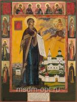 Боголюбская икона Божией Матери (арт.04224)