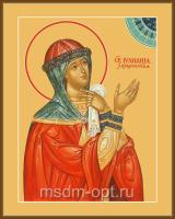 Святая Праведная Иулиа́ния Лазаревская, Муромская, икона (арт.04447)