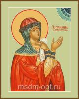 Святая Праведная Иулиа́ния Лазаревская, Муромская, икона (арт.04447 с-2)