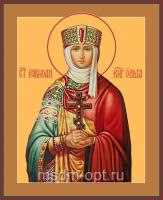 Ольга равноапостольная великая княгиня, икона (арт.04454)