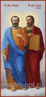 Святые апостолы Матфей и Иаков Алфеев, икона (арт.04472)