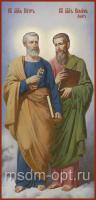 Святые апостолы Петр и Симон Кананит (Зилот), икона (арт.04473)