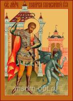 Святой Мученик Никита Бесогон, икона  (арт.04547)