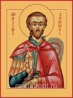 Максим Африканский (Карфагенский), Петрийский, Мученик, икона (арт.04548)