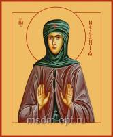 Преподобная Мелания Римляныня, Вифлеемская, Палестинская, икона (арт.04567)