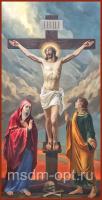 Распятие Господа нашего Иисуса Христа, икона (арт.04600)