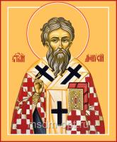 Дионисий Ареопагит, священномученик, икона (арт.04705)