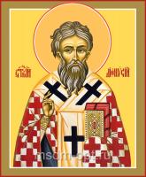 Дионисий Ареопагит, священномученик, икона (арт.04705 с-2)