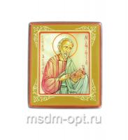 Матфей апостол, икона. Миниатюра на перламутре (арт.38937)