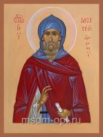 Преподобный Моисей Угрин (венгр), Печерский, икона (арт.4872)