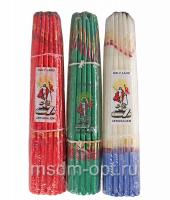 Свечи Иерусалимские (зеленые)
