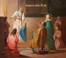 Введение во храм Пресвятой Богородицы, икона (арт.00631)