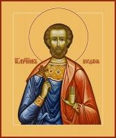 Богдан (Феодот) Адрианопольский мученик, икона (арт.06537)
