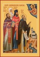 Собор Язвищенских святых, икона (арт.06637)