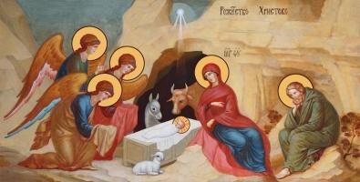 Рождество Христово, икона (арт.06642)
