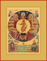Собор всех святых, икона (арт.06649)