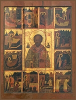 Николай чудотворец, архиепископ Мир Ликийских, святитель, икона (арт.06780)