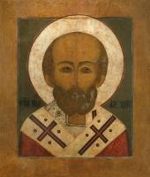 Николай чудотворец, архиепископ Мир Ликийских, святитель, икона (арт.06787)