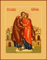 Иоаким и Анна праведные богоотцы, икона (арт.06802)