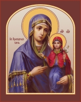 Анна, мать Пресвятой Богородицы, праведная, икона   (арт.06831)