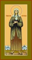 Ксения Петербургская блаженная, икона (арт.06839 с-2)