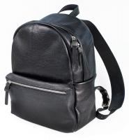 Рюкзак паломника, кожаный (арт.СП100) черный