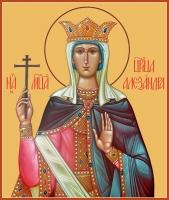 Александра Римская мученица, икона (арт.06989)