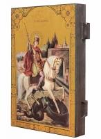 Георгий Победоносец великомученик, икона Чудо Георгия о змие (арт.00905)