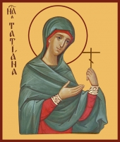 Татиана мученица, икона (арт.00937)