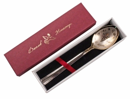 Ложка столовая «Ангела за трапезой» в подарочной упаковке (арт.24046)