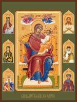 Семейная икона. Изготовление на заказ  (арт. S-030)