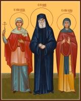 Семейная икона. Изготовление на заказ  (арт. S-036)