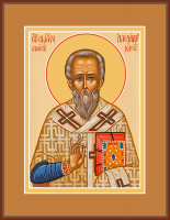 Священномученик Александр Иерусалимский , икона (арт.м0122)