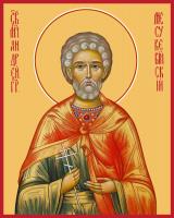 Мученик Андрей Месукевийский, Грузинский, икона (арт.м0137)