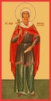 Мученица Анисия Солунская, икона (арт.м0139)
