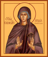 Равноапостольная Апфия (Аппия) Колосская, икона (арт.м0149)