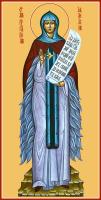 Преподобная Афанасия Эгинская, икона (арт.м0157)