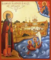 Преподобные Евфимий, Антоний Феликс Карельские, икона (арт.м0158)