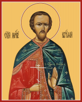 Мученик Аврамий (Авраамий) Болгарский, Владимирский, икона (арт.м0159)