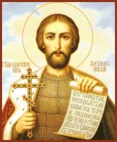 Александр Невский Благоверный Князь, икона (арт.м0160)