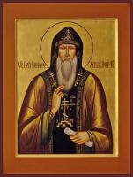 Варлаам Хутынский, Преподобный, икона (арт.м0194)
