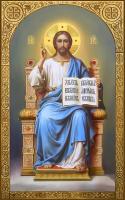 Спас на престоле, икона (арт.м0562)